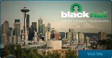 Black Hat West Coast Trainings