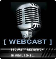 Black Hat Webcast